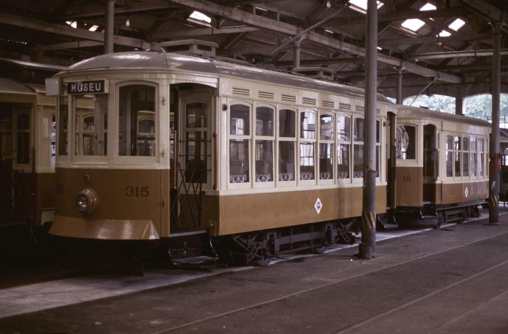 Tram 315 & Trailer 18, Porto
