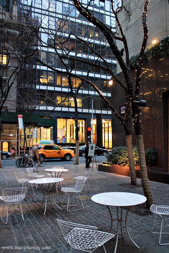 Paley Park, a Midtown Manhattan