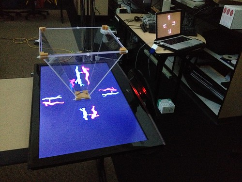 "30"" Monitor-scale Volumetric Projection Prototype"