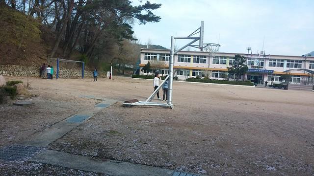 동네한바퀴: 아침산책길 - 화북초등학교