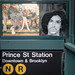 Listening to Sign O' the Times and Mourning Prince (streetart by Balu) by joe holmes