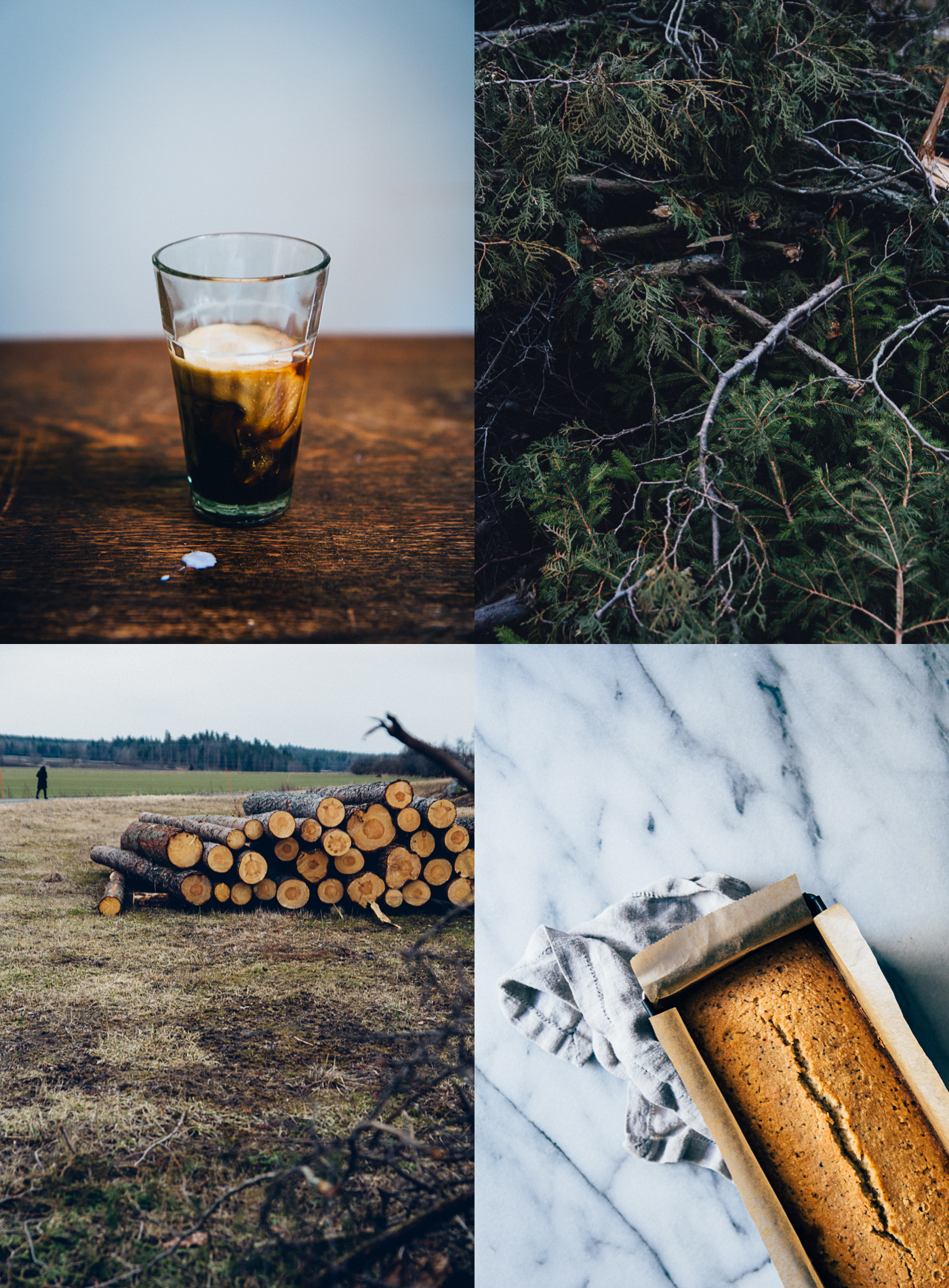 April Collage | Cashew Kitchen