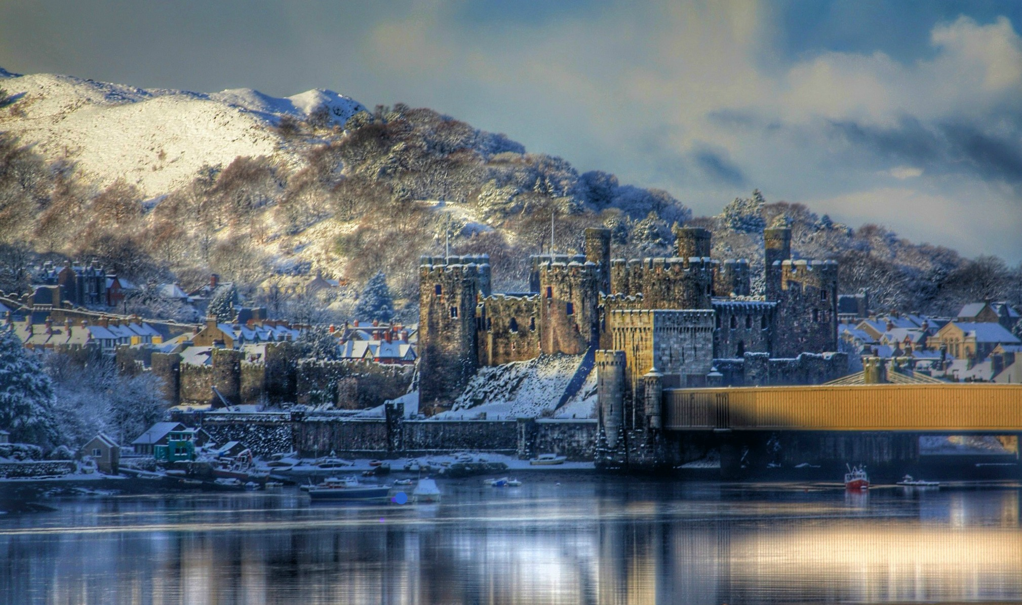 Conwy Castle. Credit Ashley Perkins