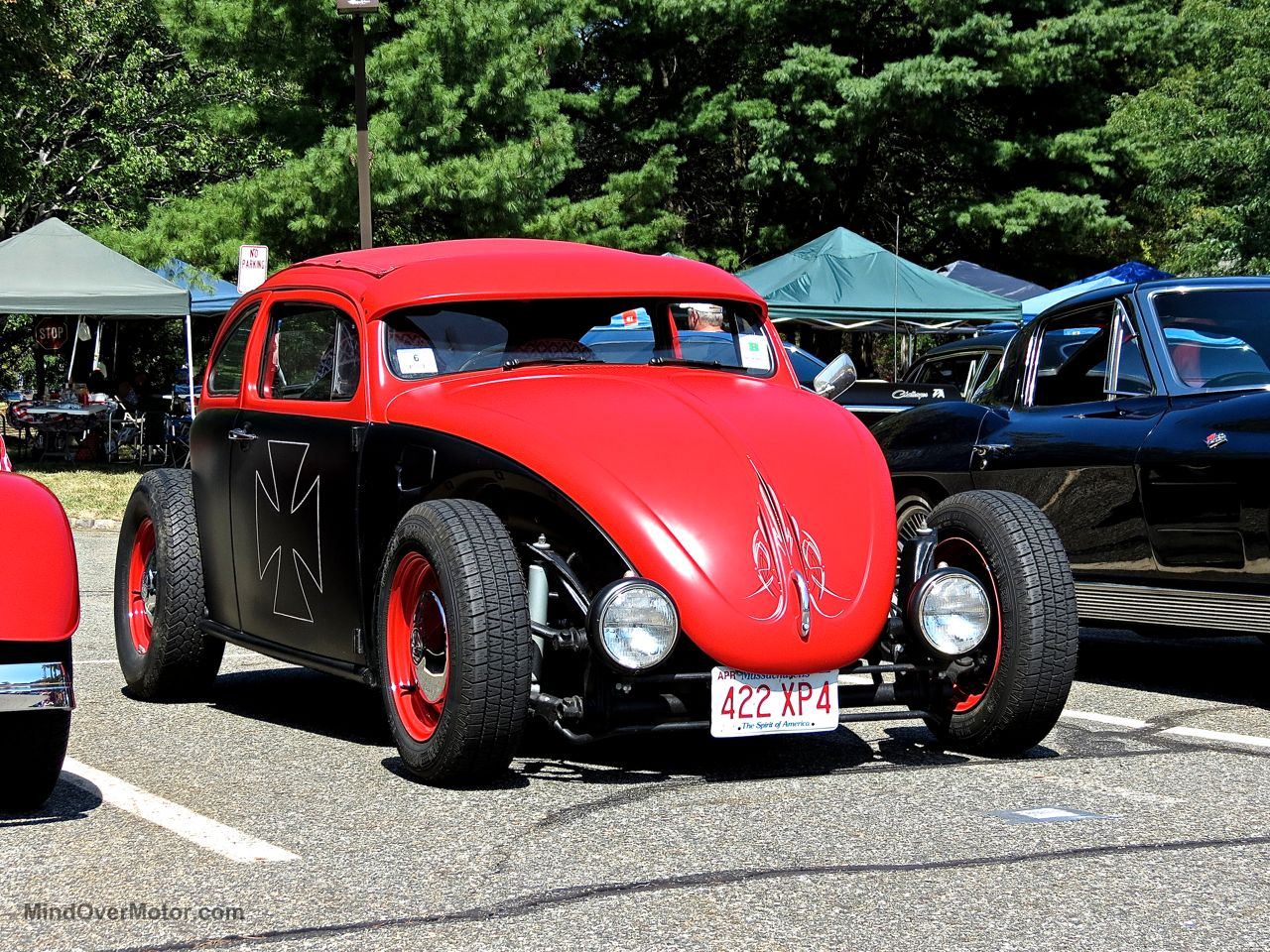 Hot Rod VW Beetle Lead East Front
