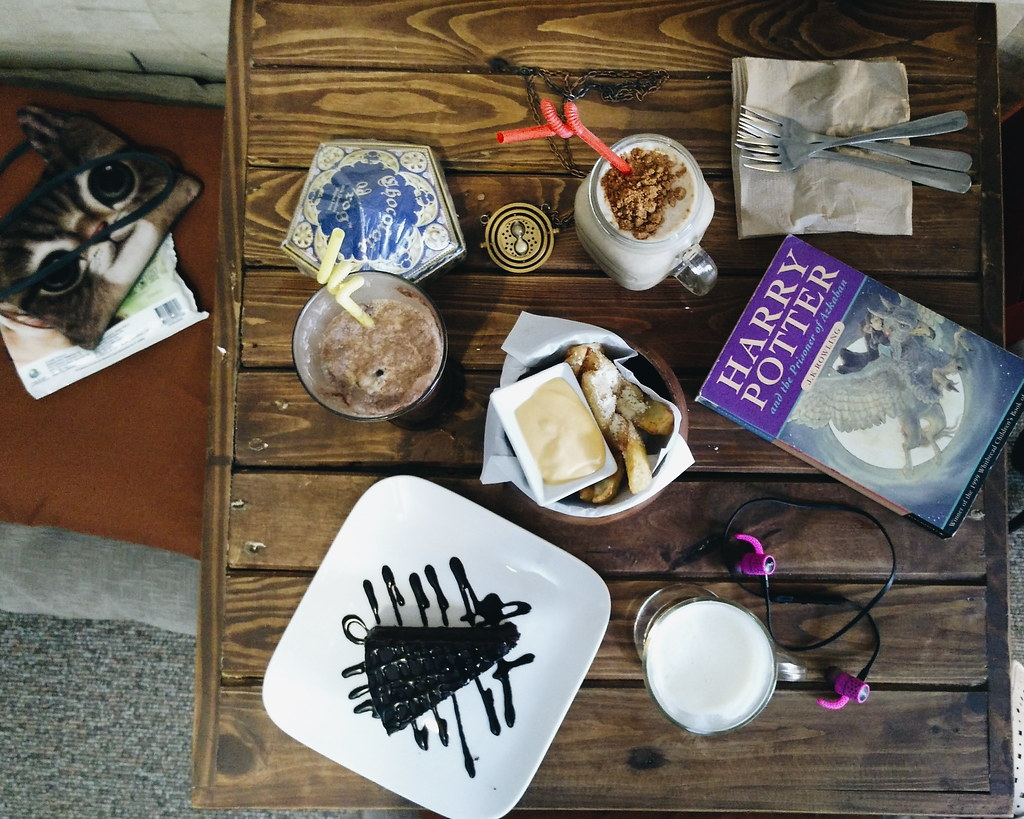 the nook harry potter cafe maginhawa