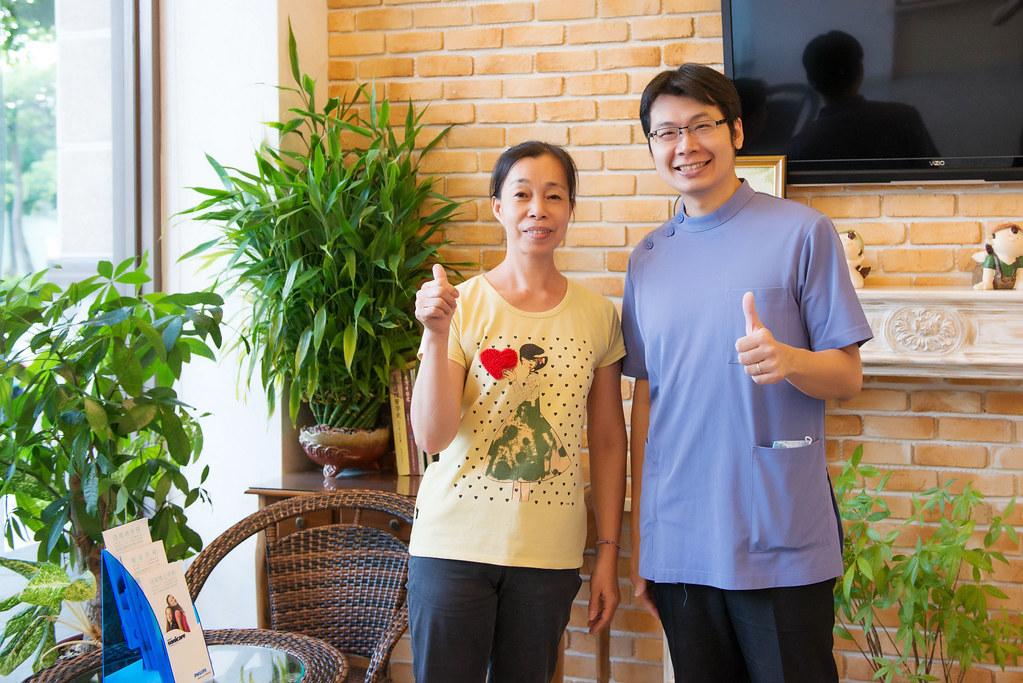 牙周病治療推薦~謝謝高雄人本自然牙醫讓我看到媽媽久違的笑容 (18)