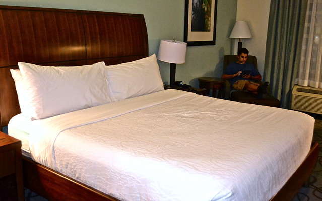 Hilton Garden Inn - king suite, Charleston South Carolina