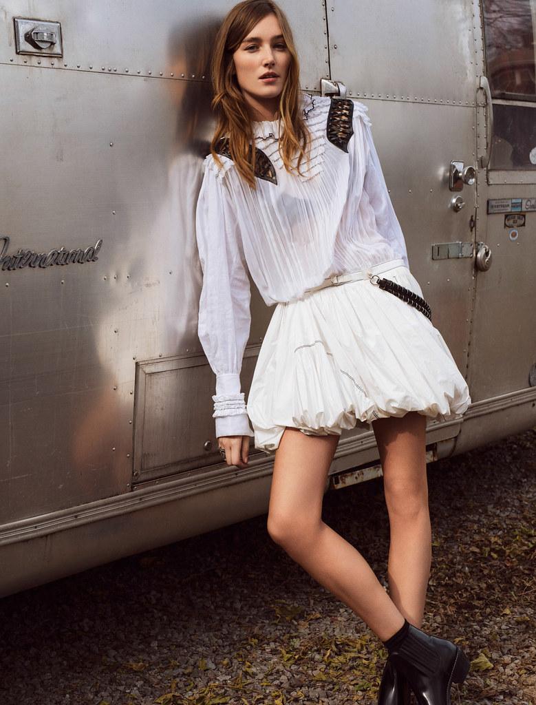 Жозефин Ле Тутур — Фотосессия для «Glamour» FR 2016 – 9