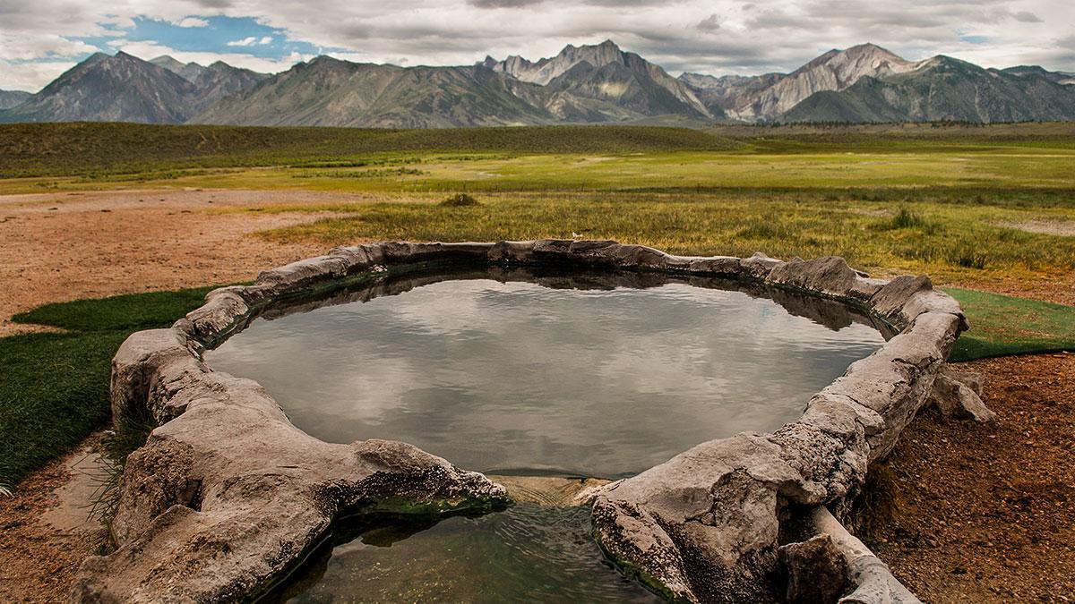 Start at the Market: Soaking at 8,000 feet: Mammoth Lakes Hot Springs