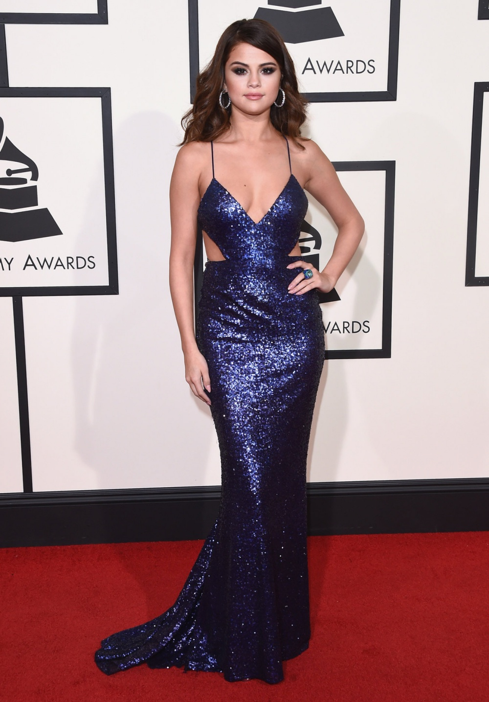 Selena Gomez Grammys 2016 Best Dressed Celebrities