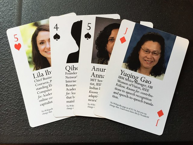 Notable Women in Computing cards
