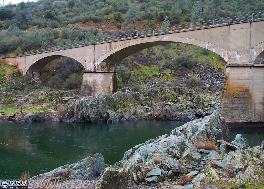 Foresthill Bridge Placer County California Around Guides