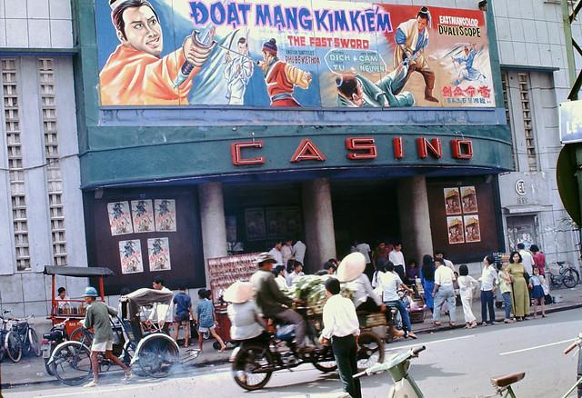 Saigon 1970 by Mark - Rạp CASINO đường Pasteur