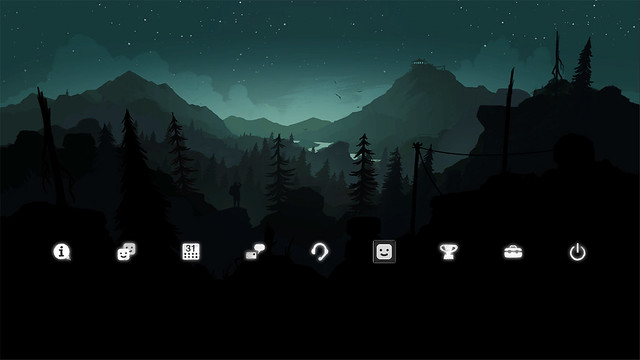 Firewatch PS4 Theme