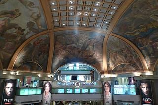 Buenos Aires - Gallerias Pacifico mural cupula