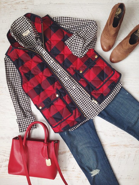 buffalo check, gingham check