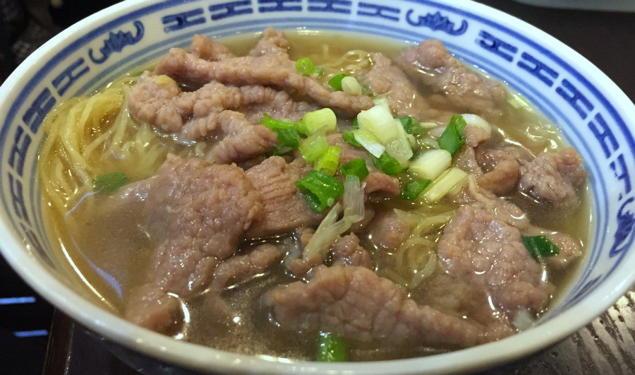 Hong Kong Food Tour - Noodle Soup