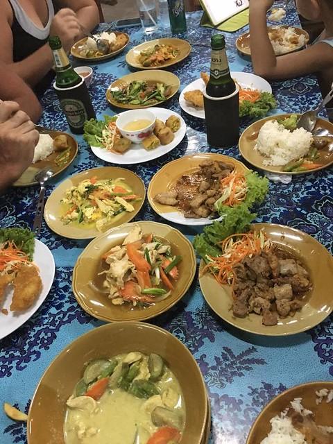 Thai food night