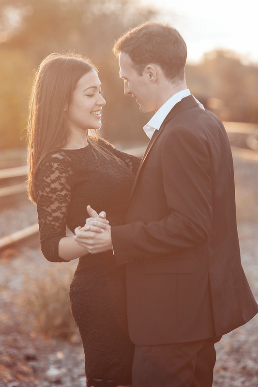 Monique & Anders | Cambridge Fall Engagement Photography