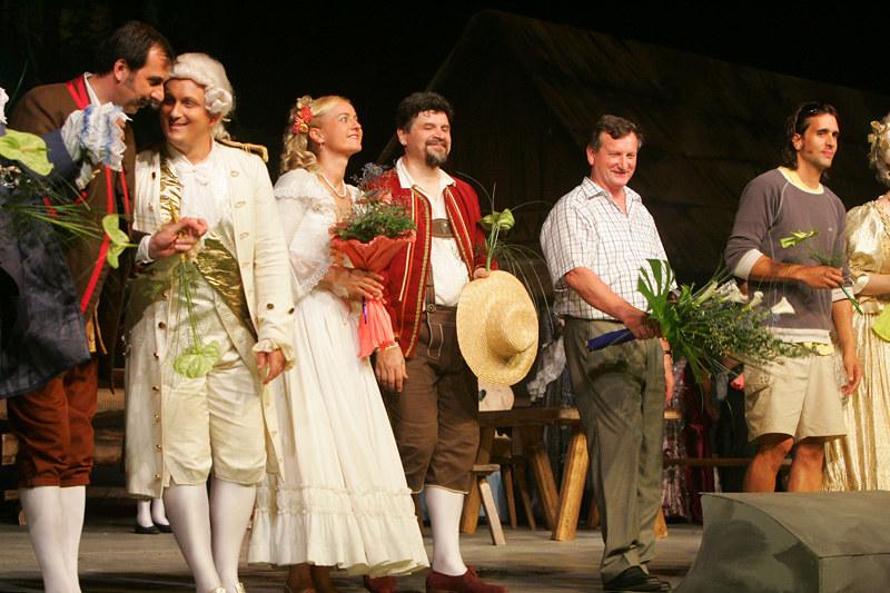2006 Domača gledališka predstava Ptičar - foto Uroš Zagožen