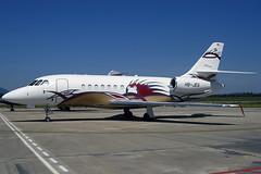 Z) Comlux Aviation (Michael Schumacher) Falcon 2000EX HB-JEG GRO 07/05/2005