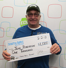 John Rynearson - $1,000 Jingle Bell Jackpot