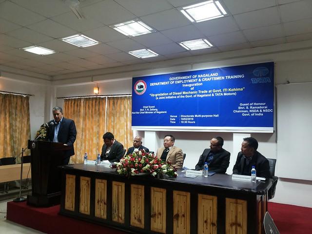 05. Ranjit Barthakur delivering lecture at ITI Kohima on 100216