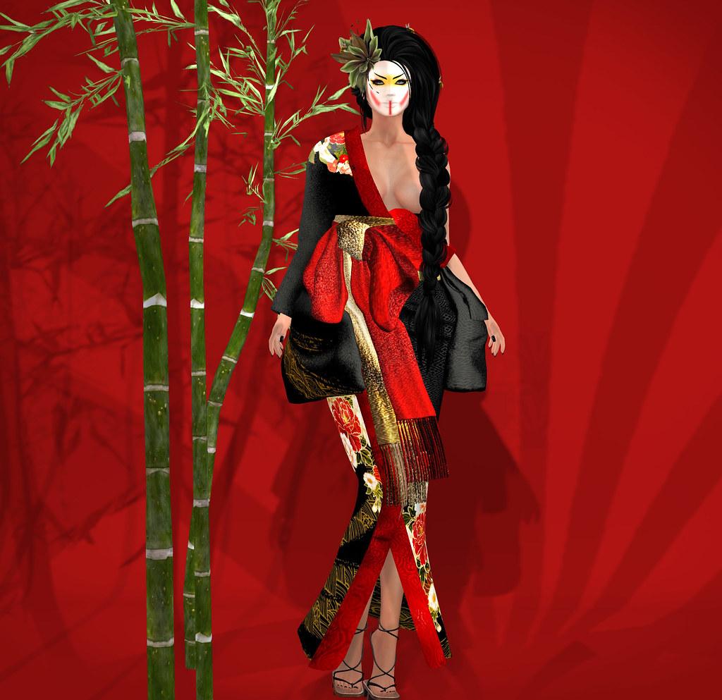 Silvery K kimono @ C88