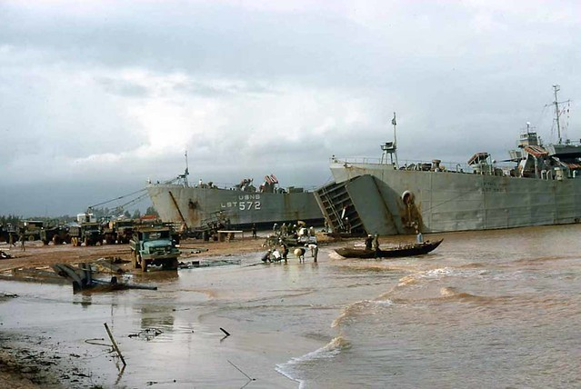 LST's Chu Lai Oct. 1965