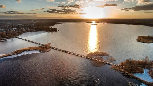 #sunset #landscape #winter #birzai #bridge #long #walk #drone #droneoftheday #dronestagram #phantom #dji #landscapelovers #lithuania #lietuva #visit #travel #vsco #nature #naturehippys #instagood #instashoot #photography #traveller #picoftheday #photoofth
