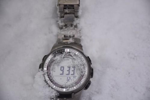 七星山雪景