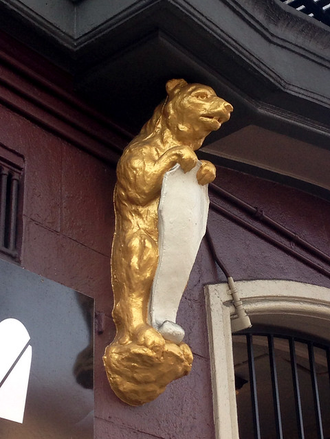 Golden Bear Ornamentation