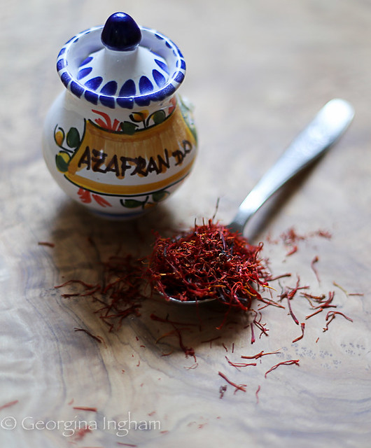 Georgina Ingham | Culinary Travels Strands of Saffron