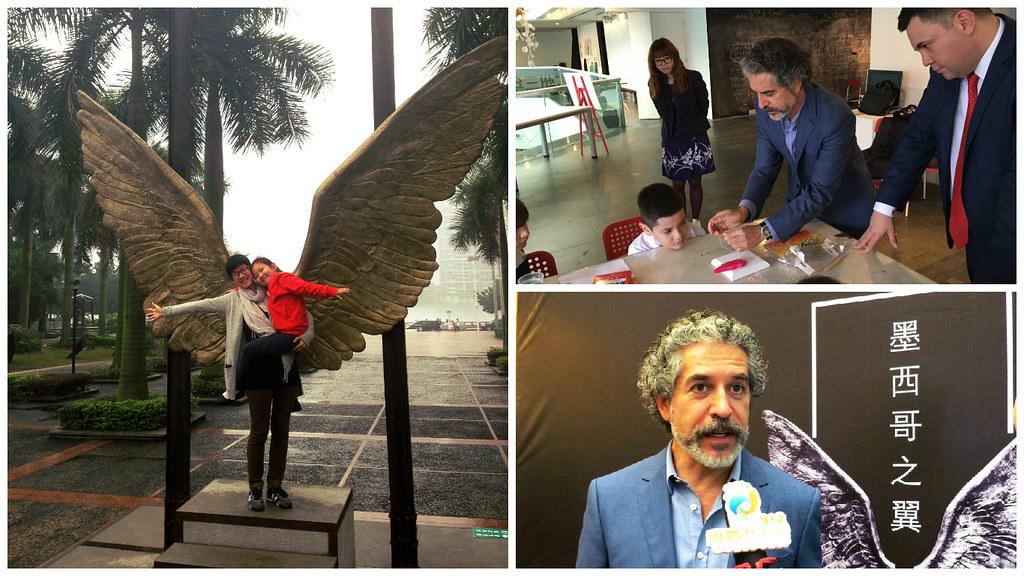 """exposición """"Alas de México"""" en el  Museo de Arte de Guangdong"""