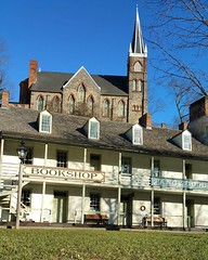 Bookshop love! If you are in the park, stop by the bookshop to see fancy goods offered by our amazing Harpers Ferry Historical Association!  (NPS Photo/Hammer) ~mh #booklove #harpersferry #harpersferrynps #historicchurch