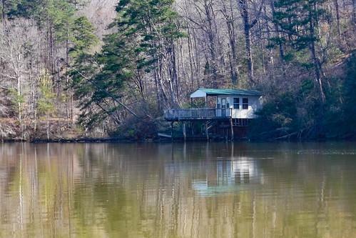 Saluda Lake Paddling-6