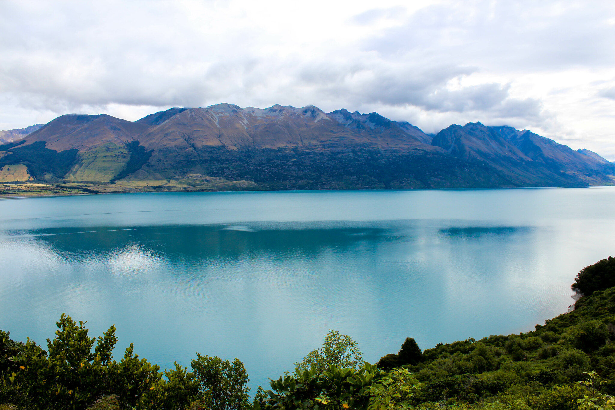 view of Lake Wakatipu (along Glenorchy-Queenstown Rd)