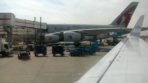 Servicing an A380