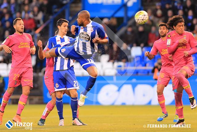 Liga BBVA. Dépor 1 - Las Palmas 3