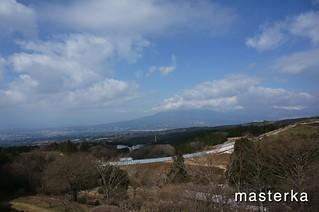 山中城跡からの景色