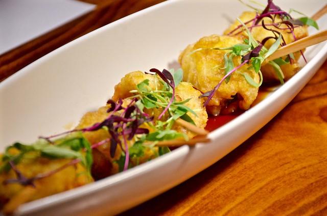 jinya halibut tempura