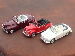 Rosengart Ariette, Panhard Dyna X, Peugeot 203