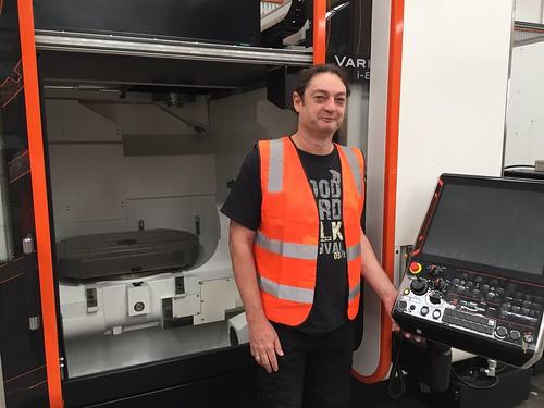 Mazak CNC machine at AEM Cores