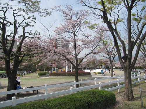 阪神競馬場,公園