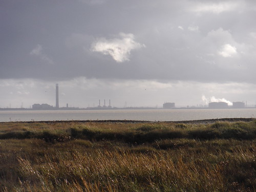 Isle of Grain from Leigh Beck marsh