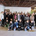 Ipolynyéki iskolások parlamenti látogatása