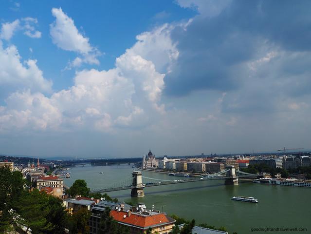 view from torteneti muzeum