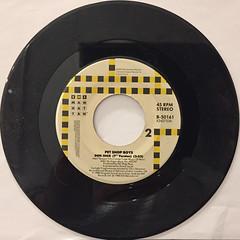 PET SHOP BOYS:DOMINO DANCING(RECORD SIDE-B)