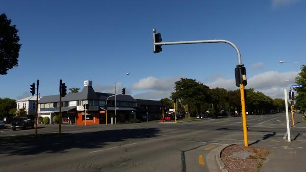 Rue de Christchurch