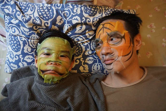 face mask daddy and son 6